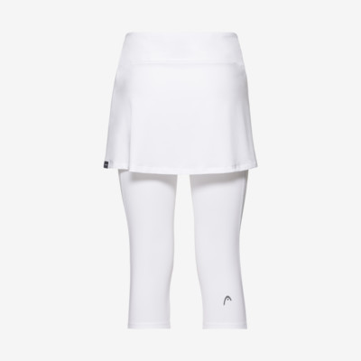 Product hover - CLUB 3/4 Tights Skort W white