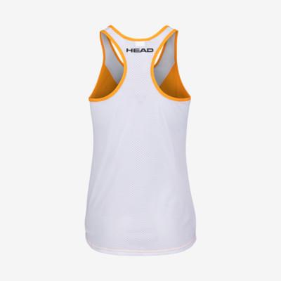Product hover - TENLEY Tank Top Women orange/white