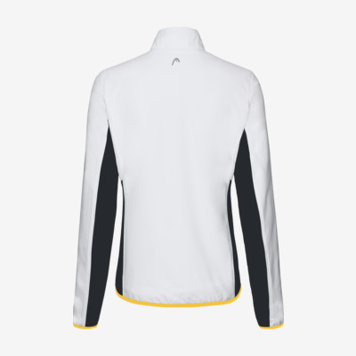 Product hover - DTB CLUB Jacket W white/yellow