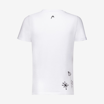 Product hover - NOVAK T-Shirt B white