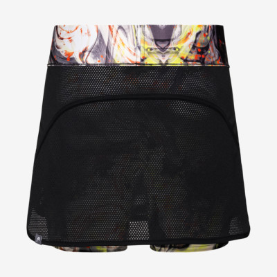 Product hover - SMASH Skort G black/caleido grey