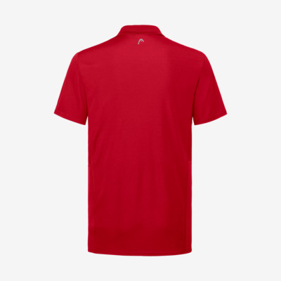 Product hover - CLUB Tech Polo Shirt B red