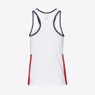 Product hover - CLUB Tank Top G white/red