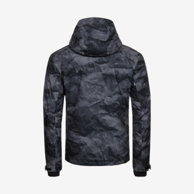 Product hover - STORM Jacket Men crincle camo black