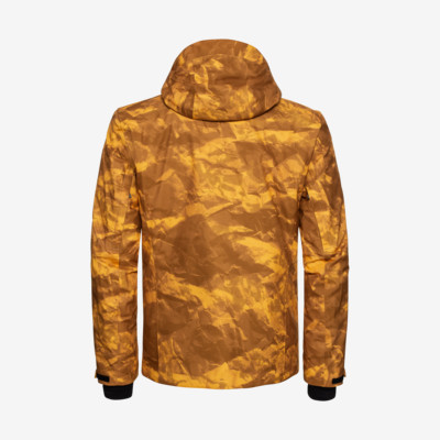 Product hover - STORM Jacket Men crincle camo yellow