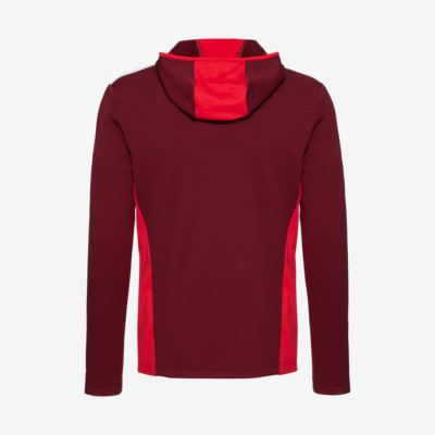 Product hover - LOGAN Midlayer FZ Men burgundy/red