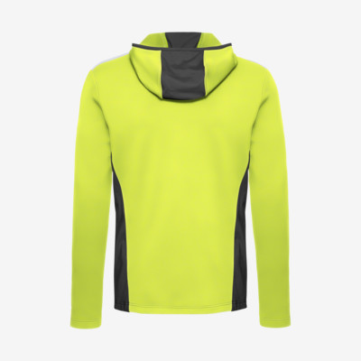 Product hover - LOGAN Midlayer FZ Men lime/anthracite
