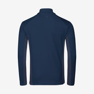 Product hover - ANTON Midlayer FZ Men dark blue