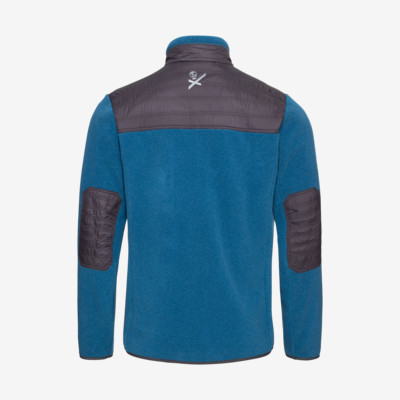 Product hover - REBELS Midlayer FZ Men blue