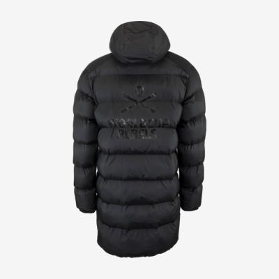 Product hover - REBELS STAR Coat Men black