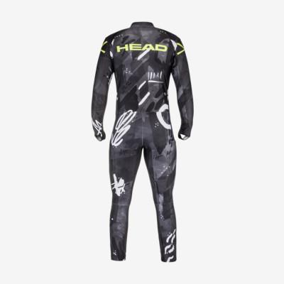 Product hover - RACE Suit Men black/yellow race