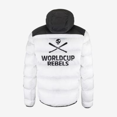 Product hover - REBELS STAR Jacket Men white/black