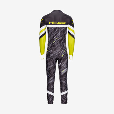 Product hover - RACE FIS SUIT Men black/yellow