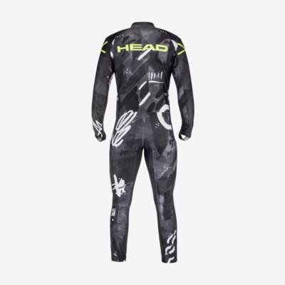 Product hover - RACE FIS Suit Men unpadded black/yellow race