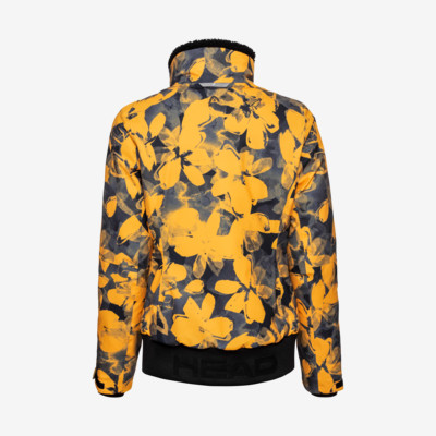 Product hover - DEMI Jacket Women pop art flower yellow