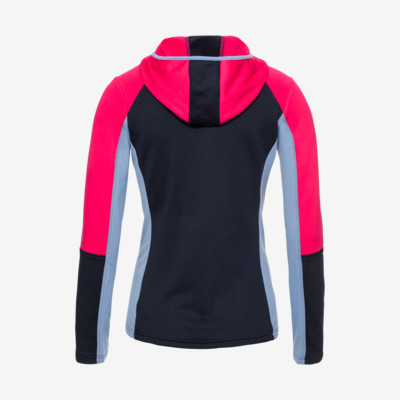 Product hover - LAYLA Midlayer FZ Women dark blue/pink