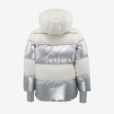 Product hover - TIFFANY Jacket Women ivory/metallic silver