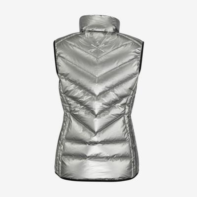 Product hover - GRACE Vest Women metallic silver
