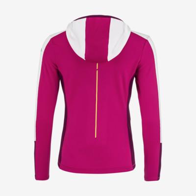 Product hover - JASMINE Midlayer FZ Women pink/white
