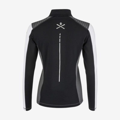 Product hover - ASTER Midlayer Women black/white