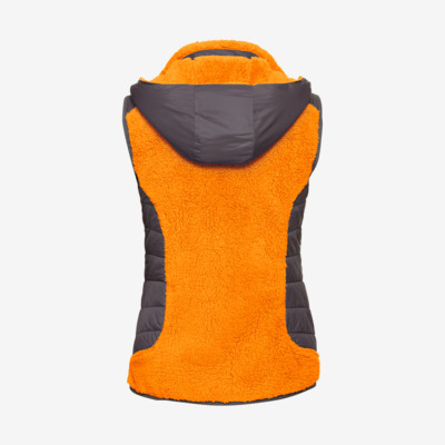 Product hover - REBELS Vest Women orange/anthracite